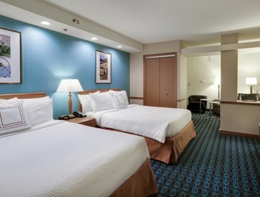 Апартаменты Fairfield Inn and Suites South Hill I-85
