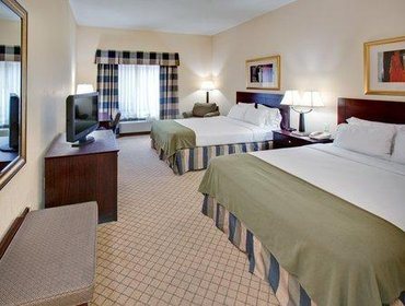 Апартаменты Holiday Inn Express Hotel & Suites Omaha Airport